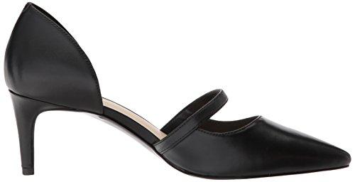 Nine West Women's Sumner Leather Pump Black Leather cheap sale newest order sale popular outlet marketable free shipping newest 8TOoC0Og