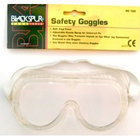 Blackspur BB-SG102 CE Approved Safety Goggle by Blackspur by Blackspur (Image #1)