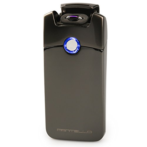 Mantello Electric Rechargeable Windproof Gunmetal product image