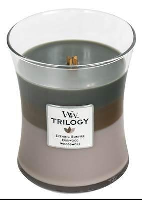 春夏新作モデル CozyキャビンWoodWick 1つ 3 Trilogy 10オンス香りつきJarキャンドル – 3 in 1つ B079T3XYQX B079T3XYQX, アサクチグン:f0f47273 --- egreensolutions.ca
