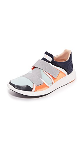 adidas by Stella McCartney Women's Pureboost Sneakers, Night Navy/Solar Orange/Gold, 8.5 B(M) US