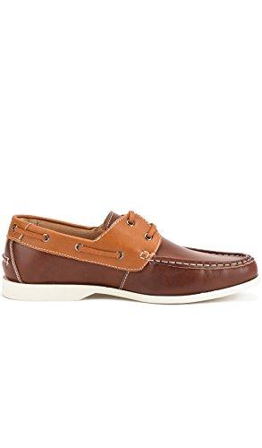 Reservoir Shoes Chaussures Bateau à Bout Rond Homme Perm