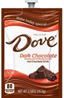 Flavia Dove Dark Hot Chocolate 18 Count Fresh Packs (Pack of 1) (Dark Chocolate Dove)