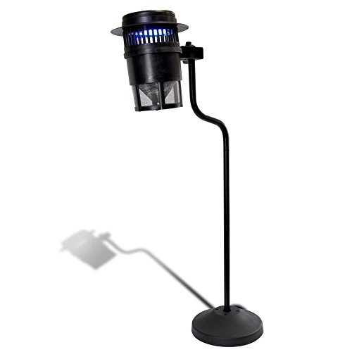 Pyle Outdoor Bug Zapper Trap, Electric Light Plug-in Bug ...