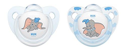 Amazon.com : NUK Disney Baby Dumbo Soother Silicone ...
