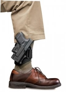 Amazon.com : Concealed Carry Fobus Ankle Holster for Glock 26/27 ...