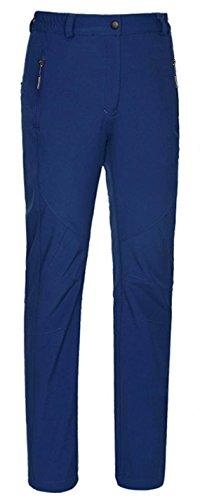 Top-EC Women's Waterproof Mountain Pants Fleece Windproof Sk