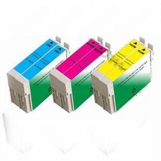 6 Epson 69 Color Set Ink Workforce 30 40 310 500 600 610 Non-oem