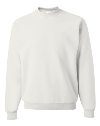 Jerzees Men's NuBlend Crew Neck Sweatshirt - Cotton Crewneck Sweatshirt Men