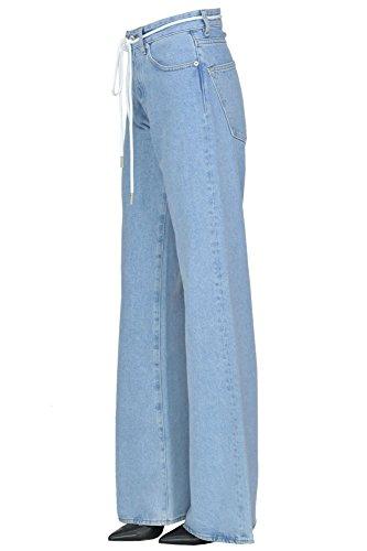 white Mcgldnm04041i Blu Off Donna Jeans Cotone Szqn1wfP