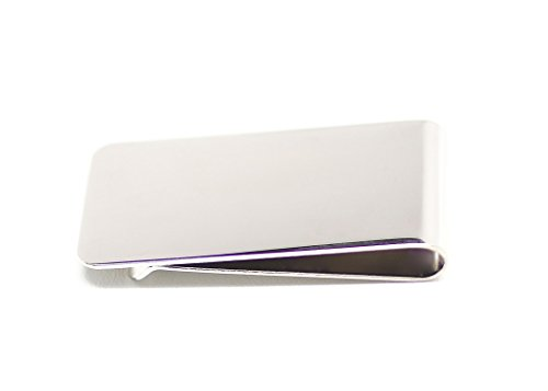Made In USA, Money Clip (Silver)