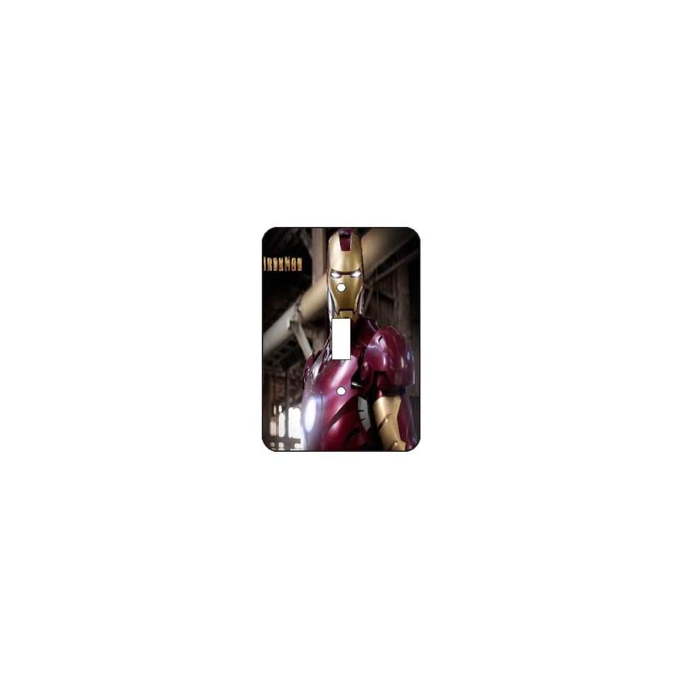 Iron Man Light Switch Plate Cover Brand New
