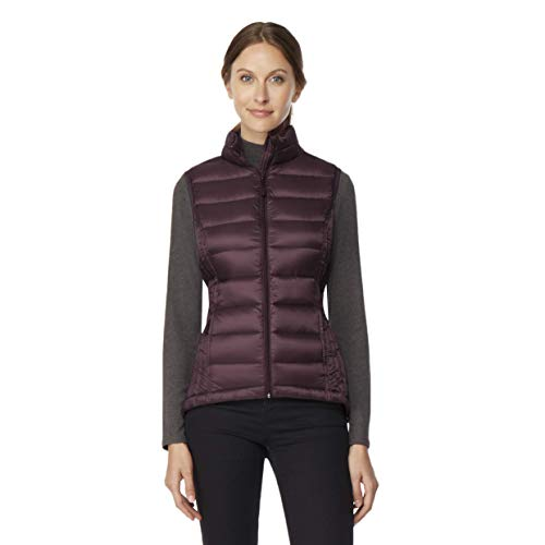 32 DEGREES Womens Ultra Light Down Packable Vest, Fudge, Size - Womens Down Vest
