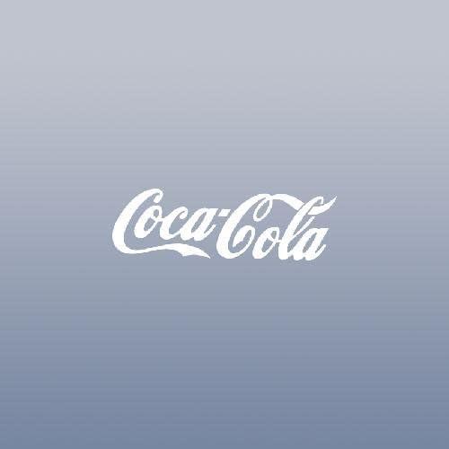"""RED /& White Cola Vinyl Die Cut Car macbook Decal Sticker Logo 4/"""""""