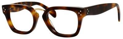 Celine Metal Rectangular Eyeglasses 48 005L - Frames Eyeglass Celine