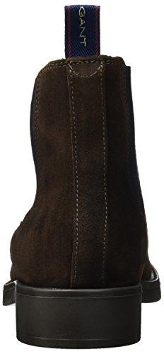 GANT Herren Oscar Chelsea Boots Braun (Dark Brown)