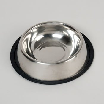 PET BOWL STAINLESS STEEL 16 OZ 149G, Case Pack of 48