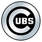Chicago Cubs MLB Silver Auto Emblem