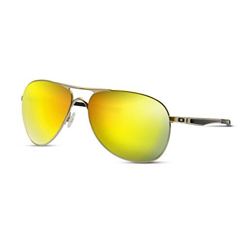 Metallic Yellow Gold Replacement Lenses for Oakley - Plaintiff Sunglasses