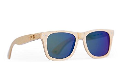 4453ee523323 Proof Ontario Wood Wayfarer Sunglasses