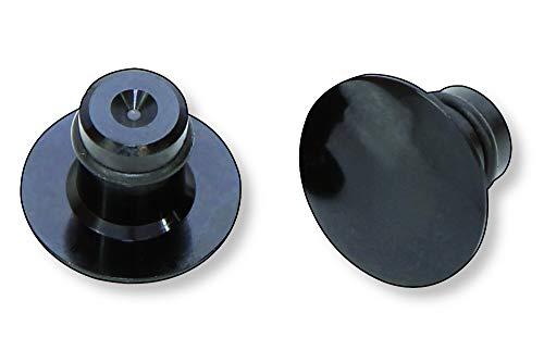 HIGHSIDER 160-314 CNC afdekkappen M10, zwart
