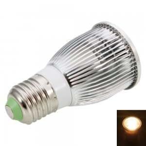 E27 7W 3000K Warm White Light COB Aluminum LED Spotlight Bulb (85-265V)