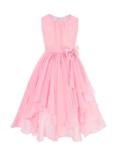 Pink Ruffled Dress - 1