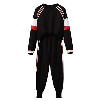 Pantalones de chándal de Dos o 2 Piezas, Color Negro, Rojo y ...