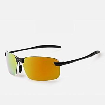 tocoss (TM) marco de aleación marca polarizadas gafas de sol Hombres Conductor Gafas de