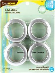 """Bulk Buy: Dritz Curtain Grommets 1 9/16"""" Inner Diameter 8/Pk"""