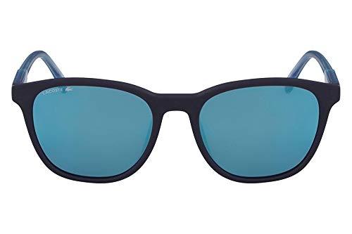 Óculos Lacoste L864S 424 Azul Fosco Lente Azul Flash Tam 53
