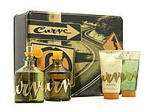 Curve By Liz Claiborne For Men. Gift Set ( Cologne Spray 4.2 Oz + Aftershave 4.2 Oz + Skin Soother 2.5 Oz + Hair & Body Wash 2.5 Oz). by Liz Claiborne