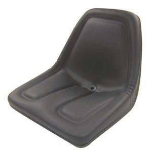 Deluxe Mower Tractor Seat for John Deere, Kubota, Allis-Chalmers, Bobcat, Case-IH, Ford New Holland, White, Oliver, Mpl, Moline, Massey Ferguson High Back (Black)