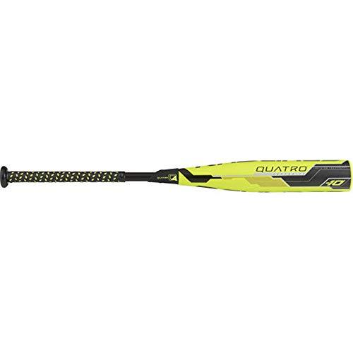 Rawlings Quatro 10 USSSA Series Bat, Yellow/Black, 30