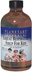 Childrens Cherry Syrup (Planetary Herbals Planetary Loquat Respiratory Syrup for Kids, 8 Fluid Ounce)