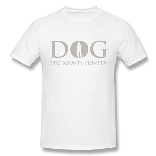 BrocadeCarp Dog Bounty Hunter Beth Chapman Mens Fation Shirts Women Loose Short-Sleeved T-Shirt M White -