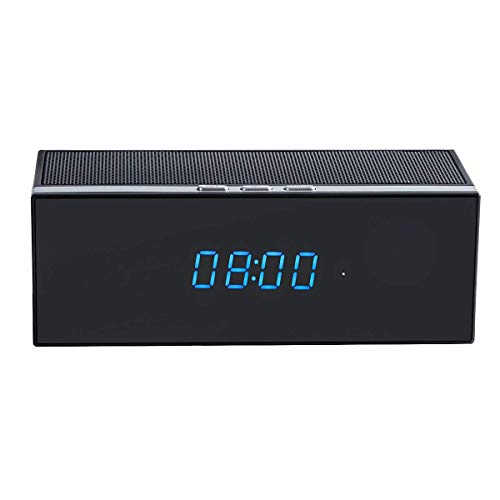 Casavidas HD 1080P Wireless WiFi IP Hidden Camera Motion Security Alarm Clock IR DV WT