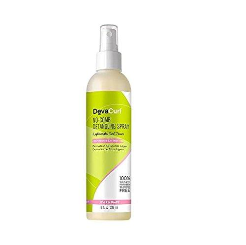 Deva Concepts Devacurl No-Comb Detangling Hair Spray, 8 (Detangling Spray)