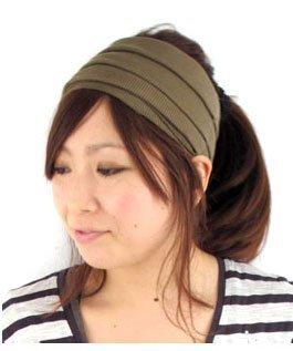 Casualbox CHARM Mens Womens Japanese Fashion Elastic Headband Sports Outdoor Type Black