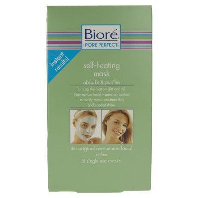 Biore Pore Perfect Self Heating Masks