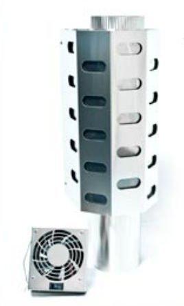 Dickinson Marine 00-HEA3 3 in. Heatex Hot Air Exchanger - Diesel Heat Exchanger