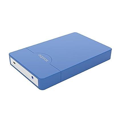 Approx APPHDD10LB - Carcasa sin tornillos (USB 2.0, 2.5