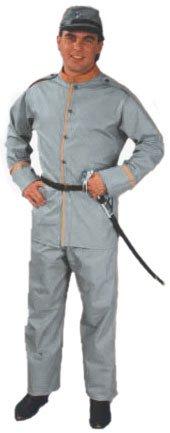 [Men's Confederate Soldier Costume (Size 40-44)] (Make Confederate Soldier Costume)