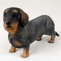 Dachshund Dog Figurine - Wire (Wirehaired Dachshund)
