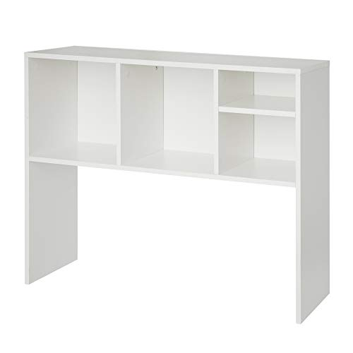DormCo The College Cube - Desk Bookshelf - White - Bookshelf Hutch