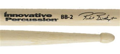 Innovative Percussion BB2 Bob Breithaupt Combo Series Hickory Wood Tip Drumsticks