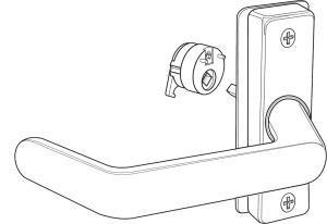Adams Rite 4569-601-130 Aluminum Door Trim, 5'' Length
