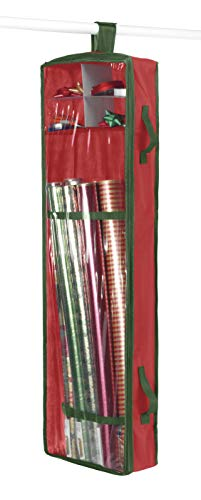 whitmor hanging gift wrap organizer
