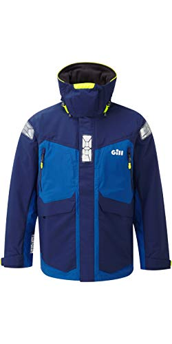 GILL OS24 Men's Offshore Jacket (XX-Large, Dark Blue)