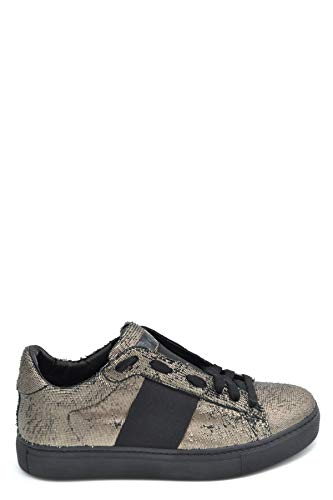 Mujer Stokton Zapatillas Mcbi37155 Cuero Negro 7RwxdX4w1q